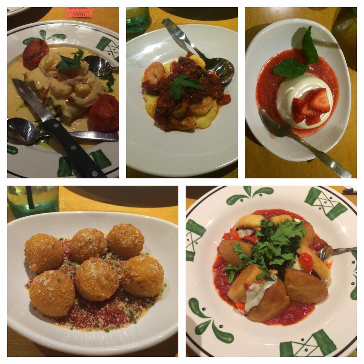 Olive garden new menu items small towns city lights - Olive garden crispy risotto bites ...