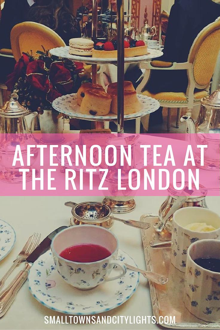 Want to get the full London tea experience? The Ritz London is the place to go!