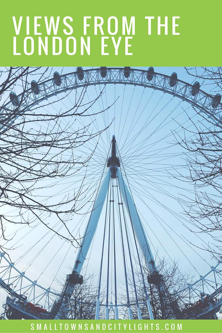 One attraction you don't want to miss in London? The London Eye!