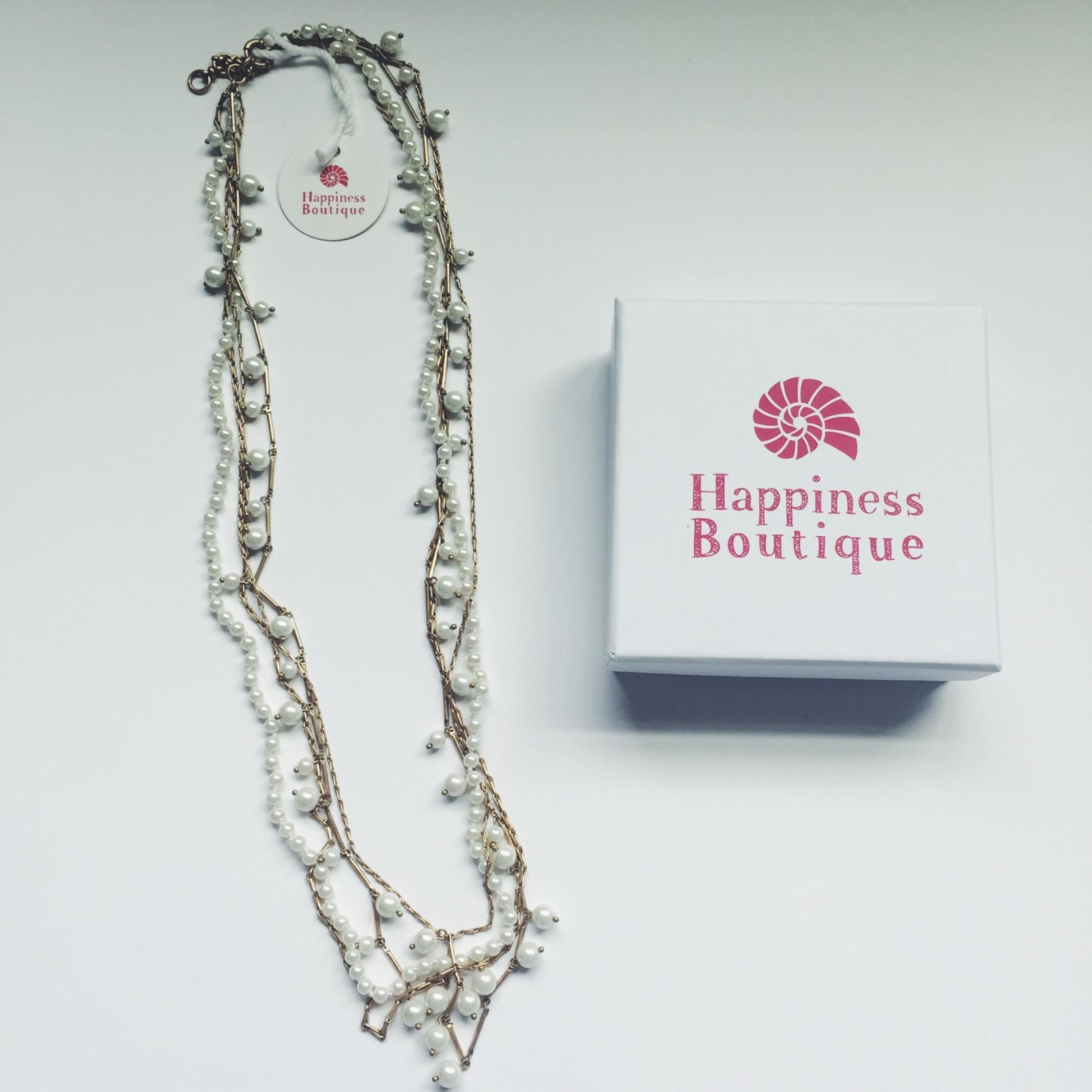 happiness boutique pearl necklace