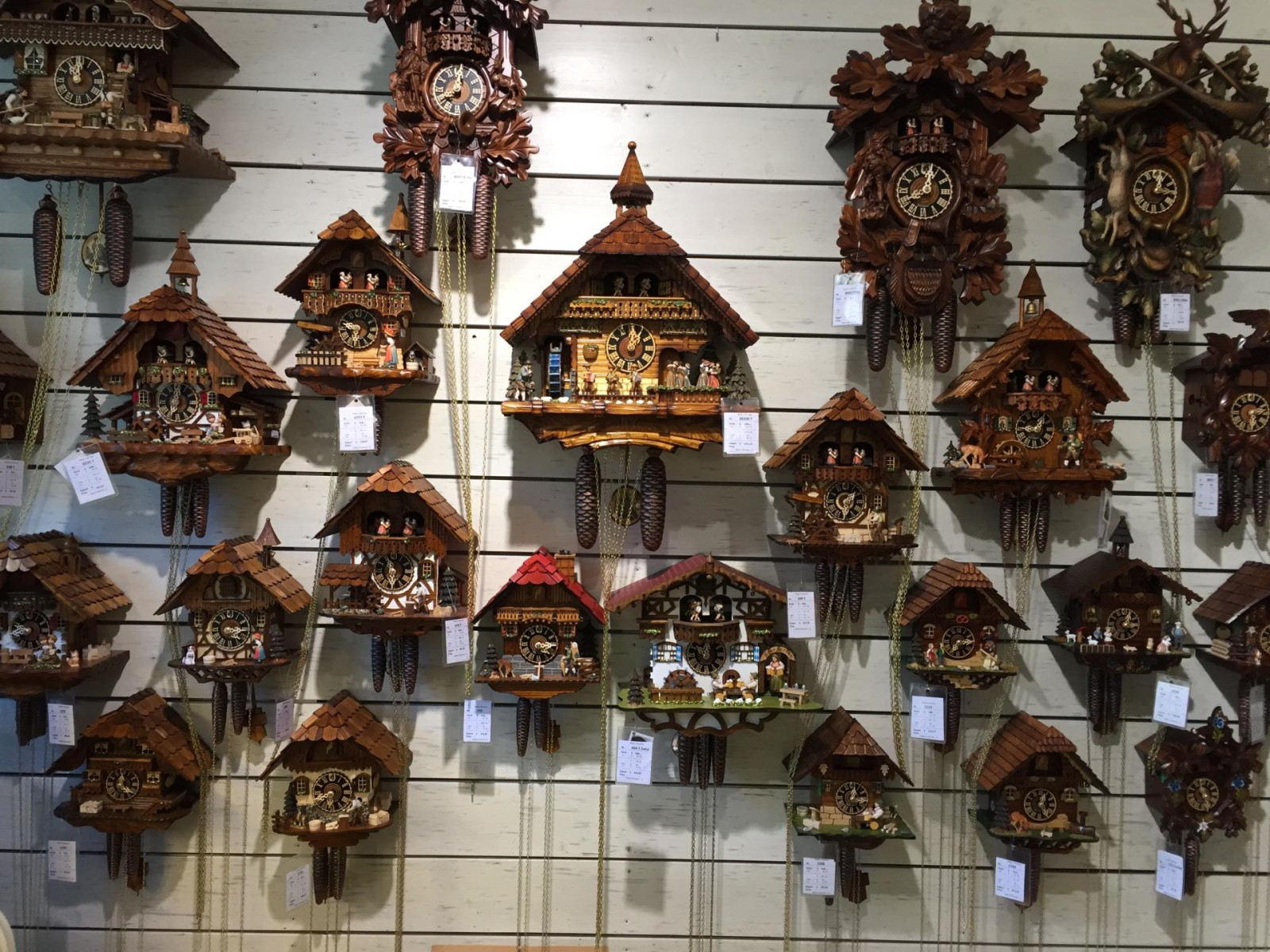 clocks in Oberammergau