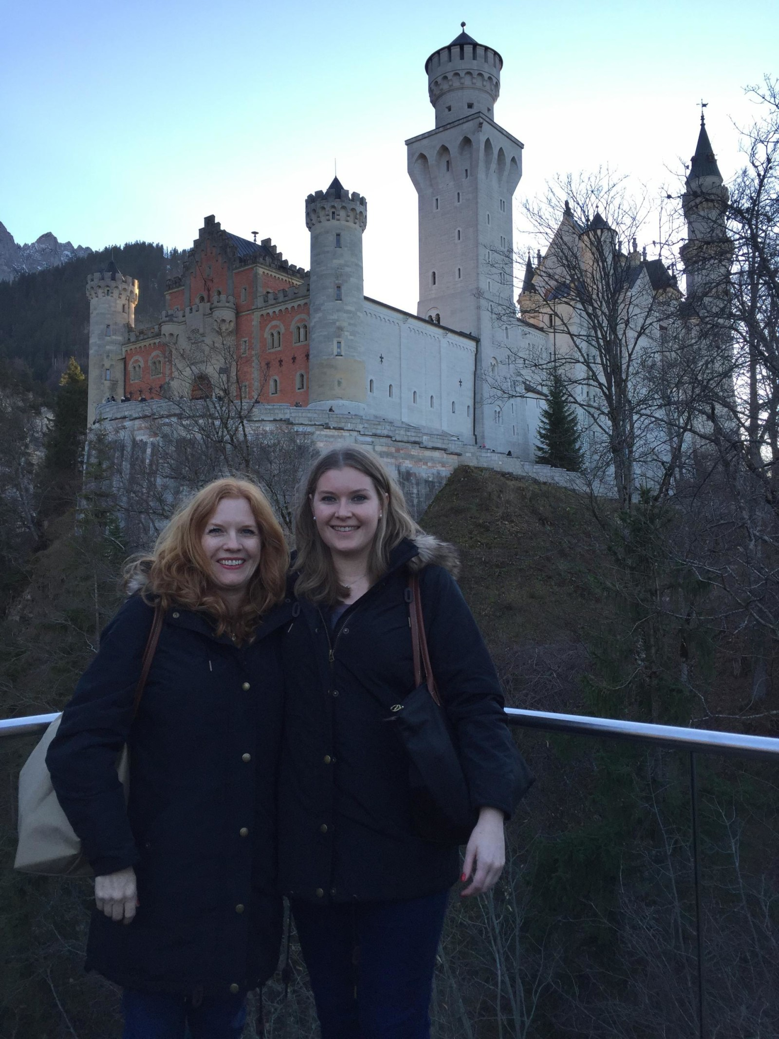 neuschwanstein with mom