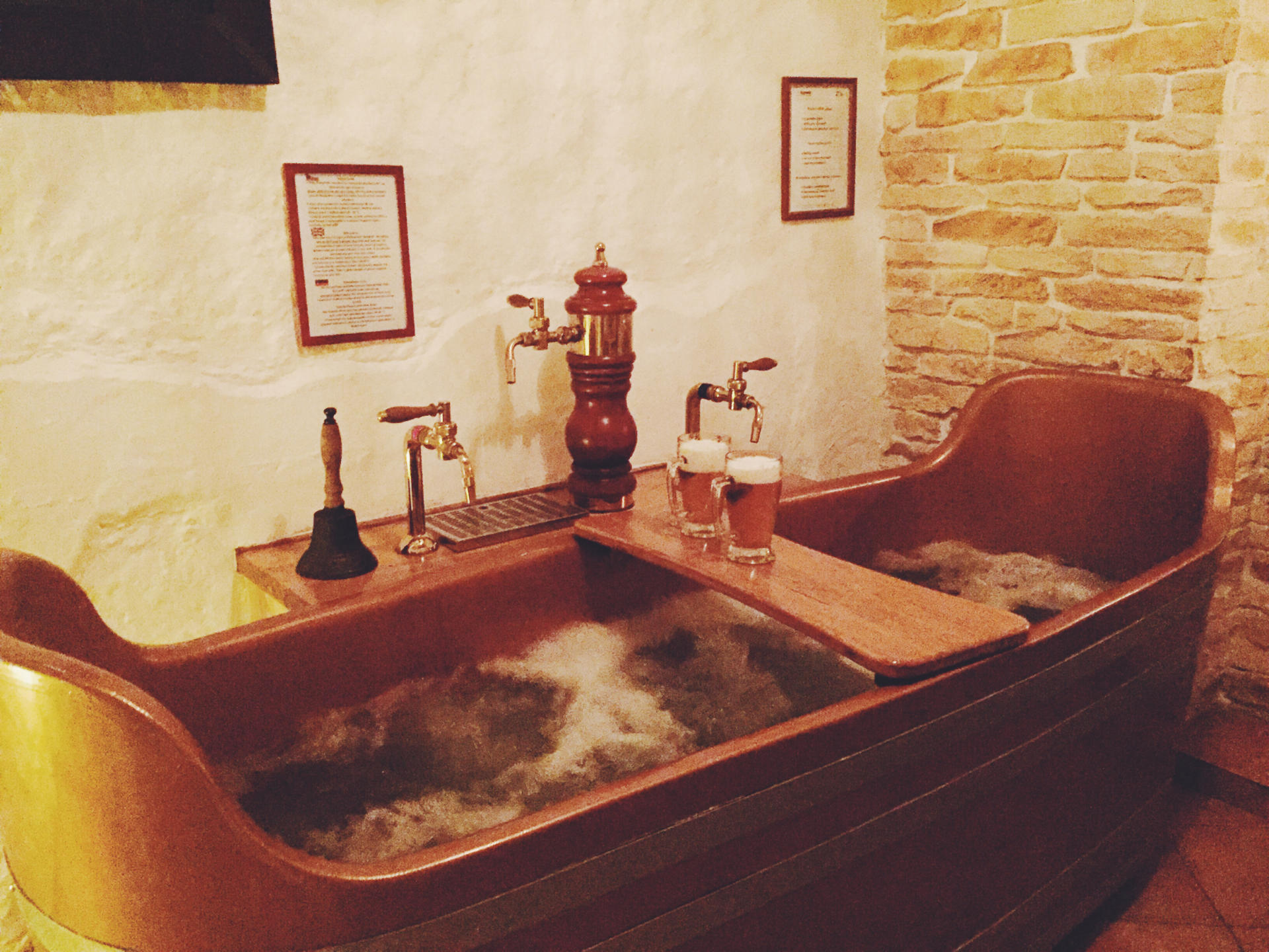 The beer spa experience in prague small towns city lights for Best spa in prague