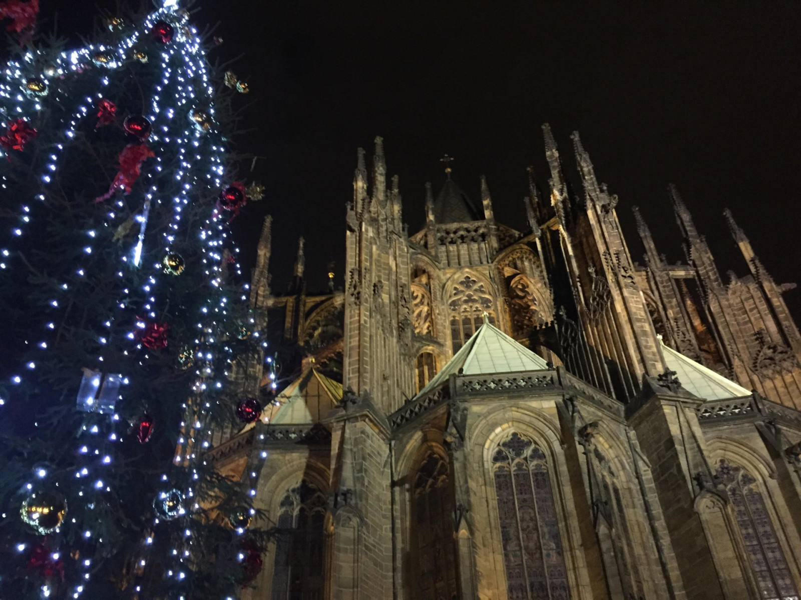 prague castle christmas