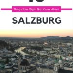 How much do you know about Salzburg, Austria? Check out these fun facts + recommendations for must see/do things in Salzburg.