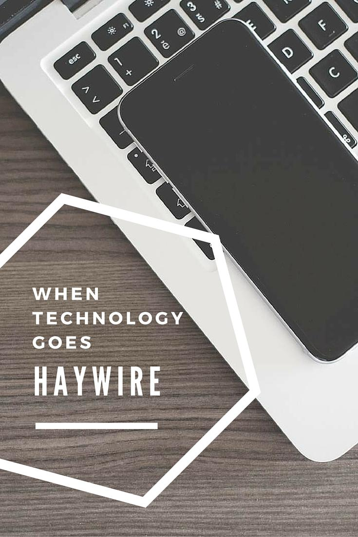 Have you experienced your technology going haywire? Here are some ways to make sure your content is safe.