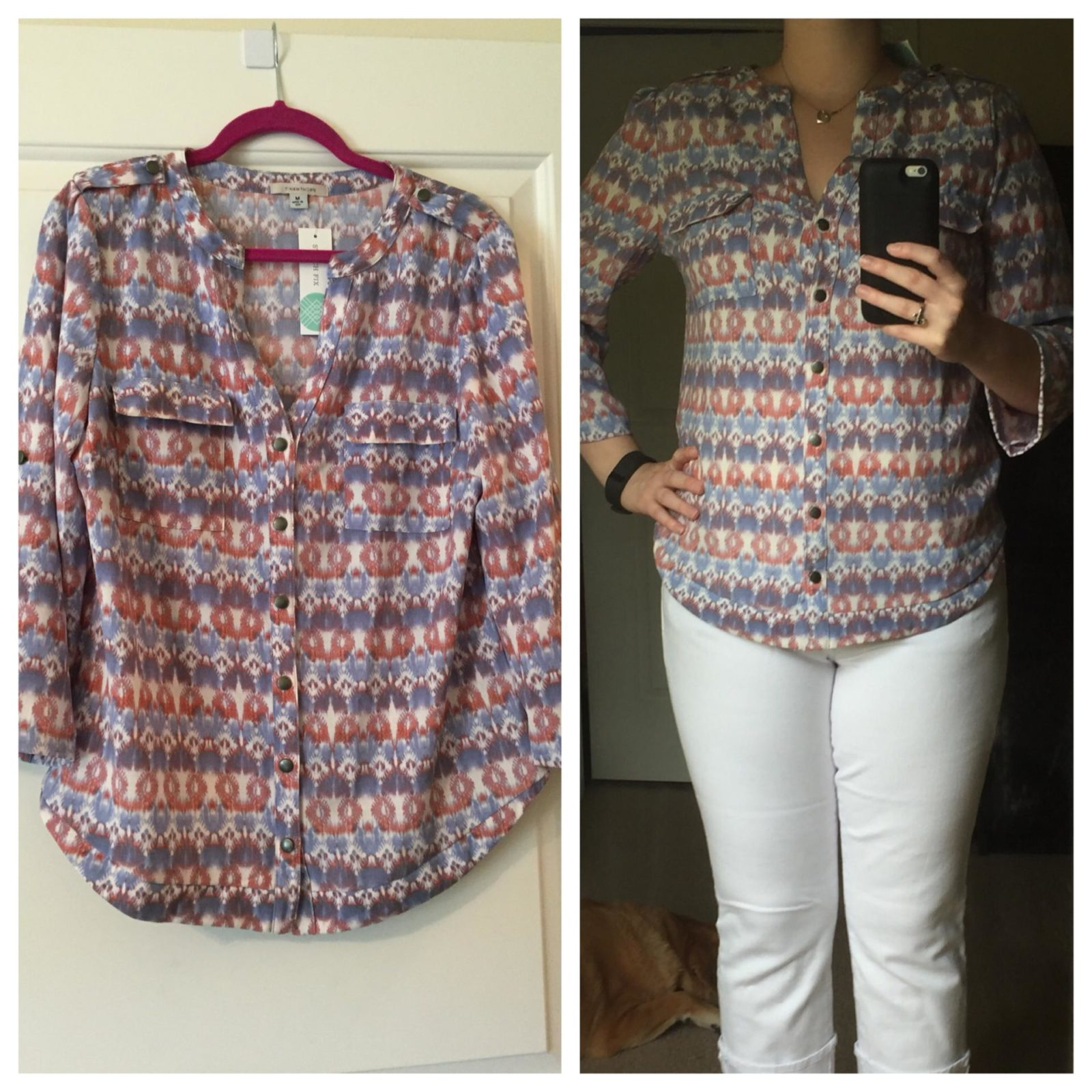 41Hawthorn Tameron Button Down Blouse
