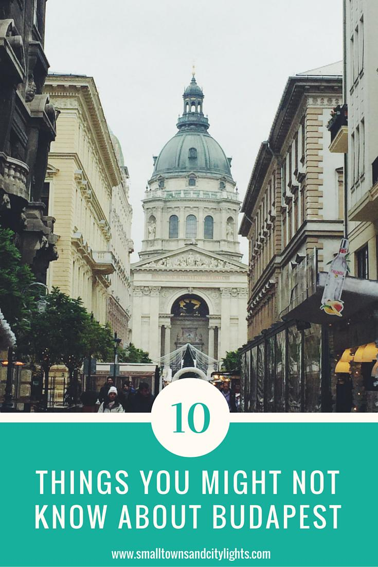 Read these 10 interesting things you might not know about Budapest!