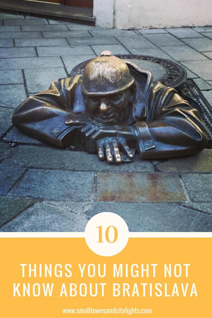 Considering a trip to Bratislava? Read these 10 things you might not know about the city!
