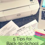 Back-to-school season is upon us! Check out these 5 tips for back-to-school survival!
