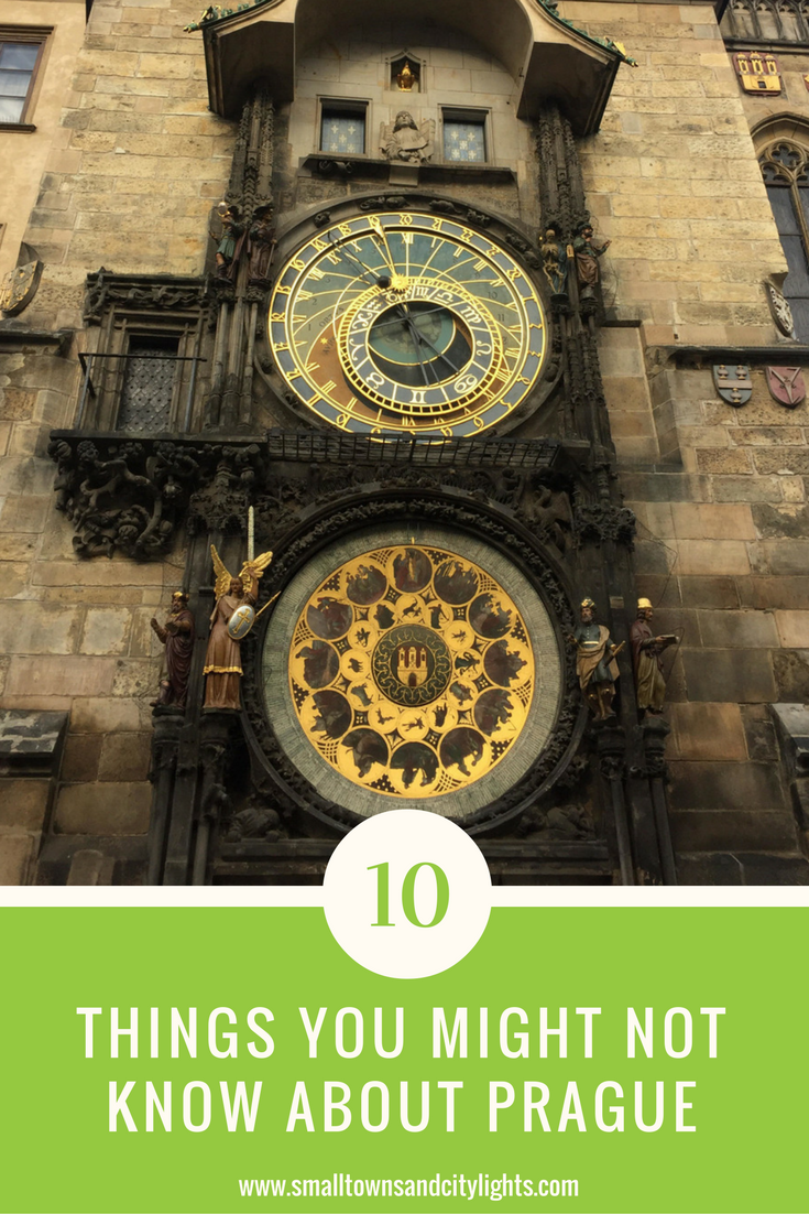 Read these 10 interesting facts about Prague!