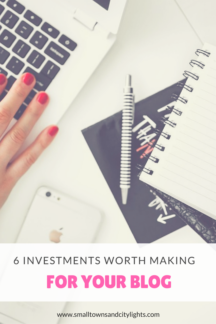 Looking to grow your blog? Here are 6 investments worth making!