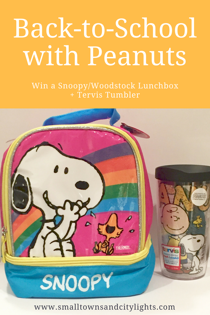 Ready to head back to school? Share your favorite childhood memories + enter to win a fun Peanuts lunchbox + Tervis Tumbler!