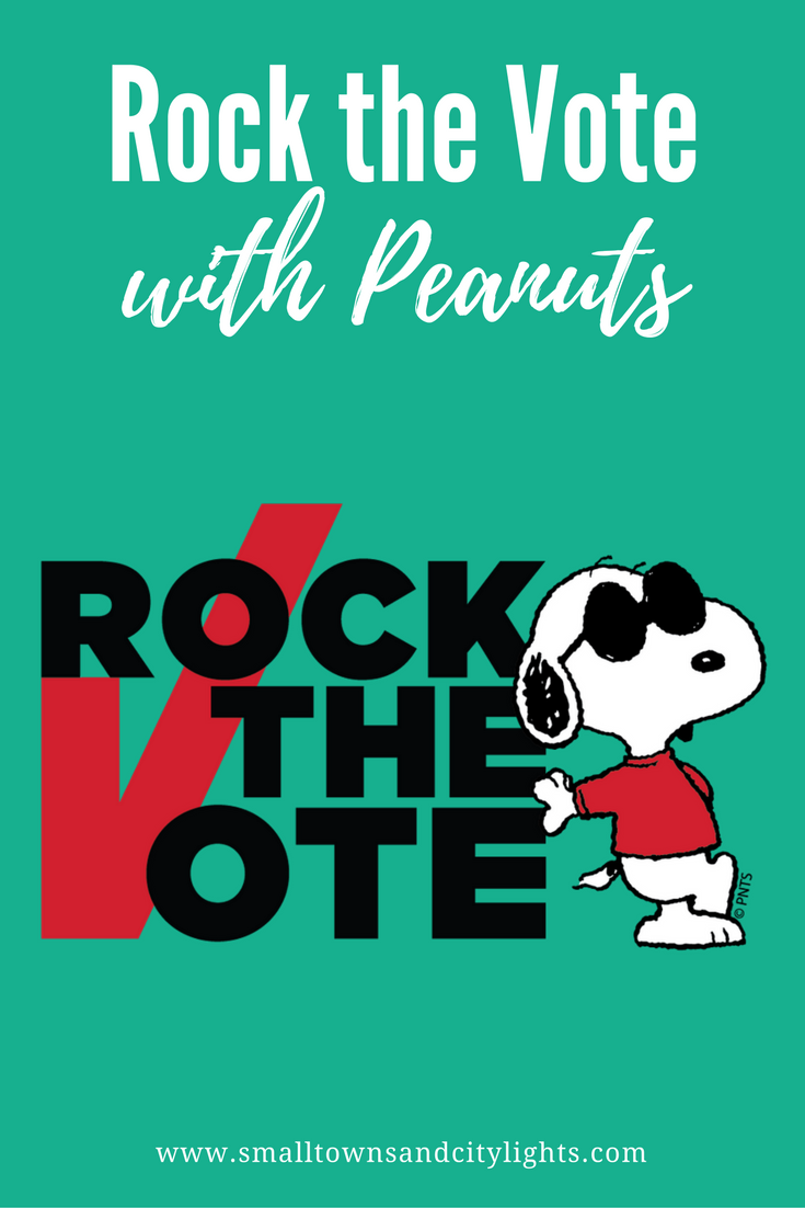 Rock the Vote with Peanuts!