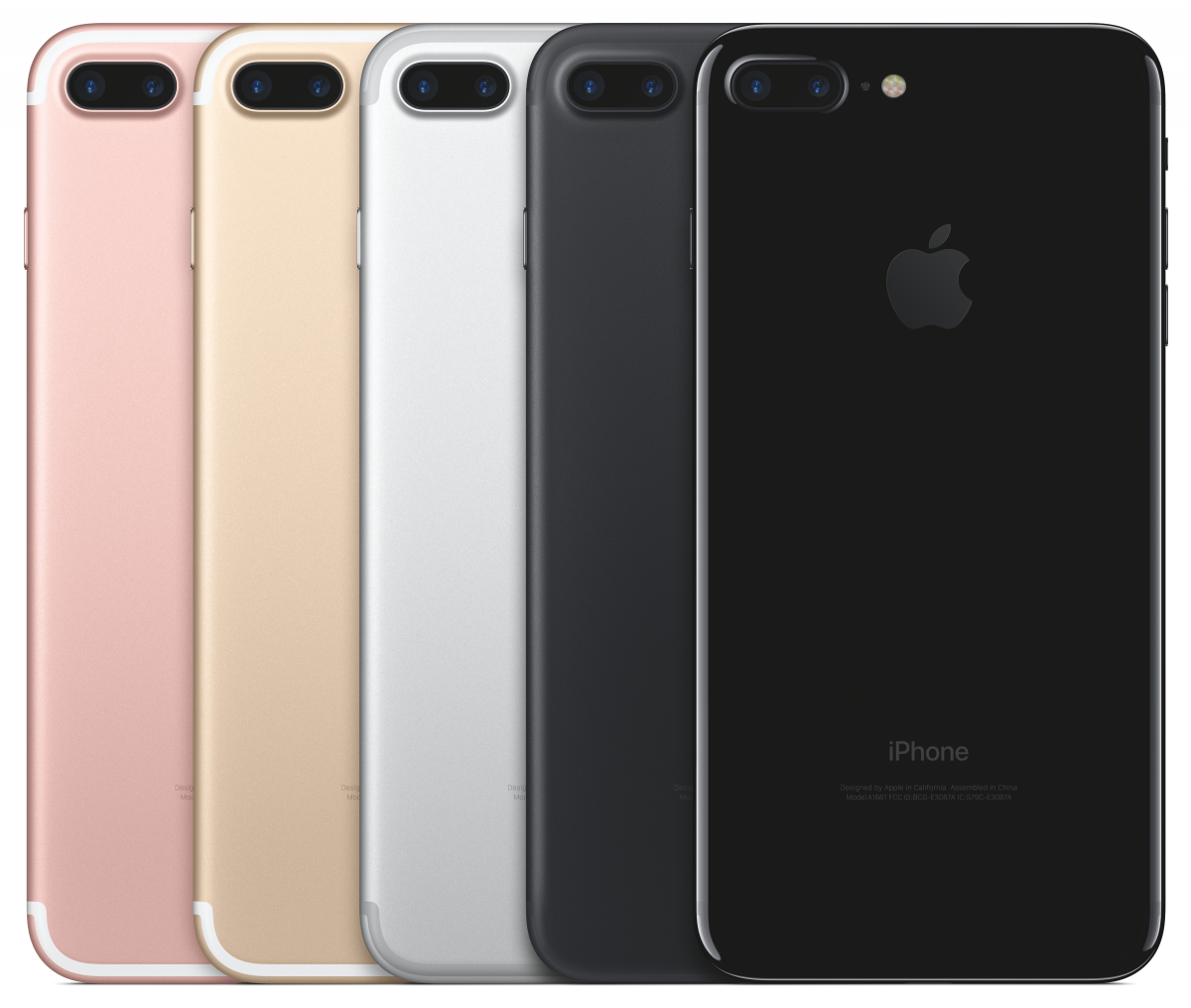 Available in 5 colors, the iPhone 7 + 7S are available for pre-order on Sept. 9!