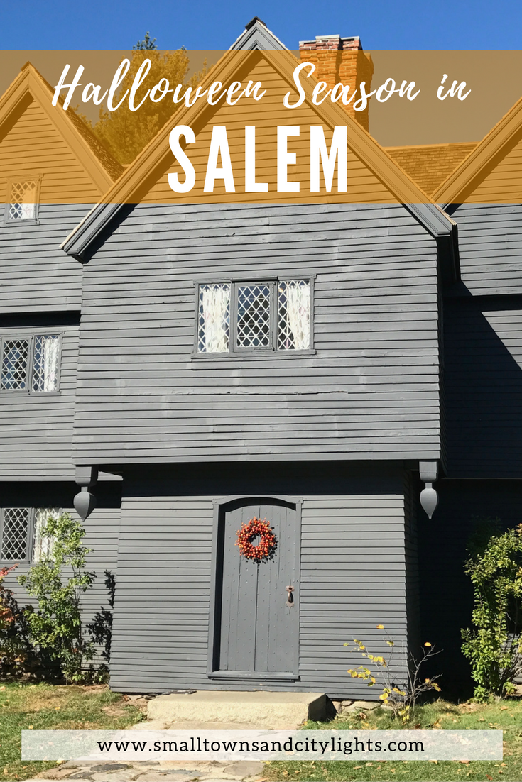 Halloween Season in Salem