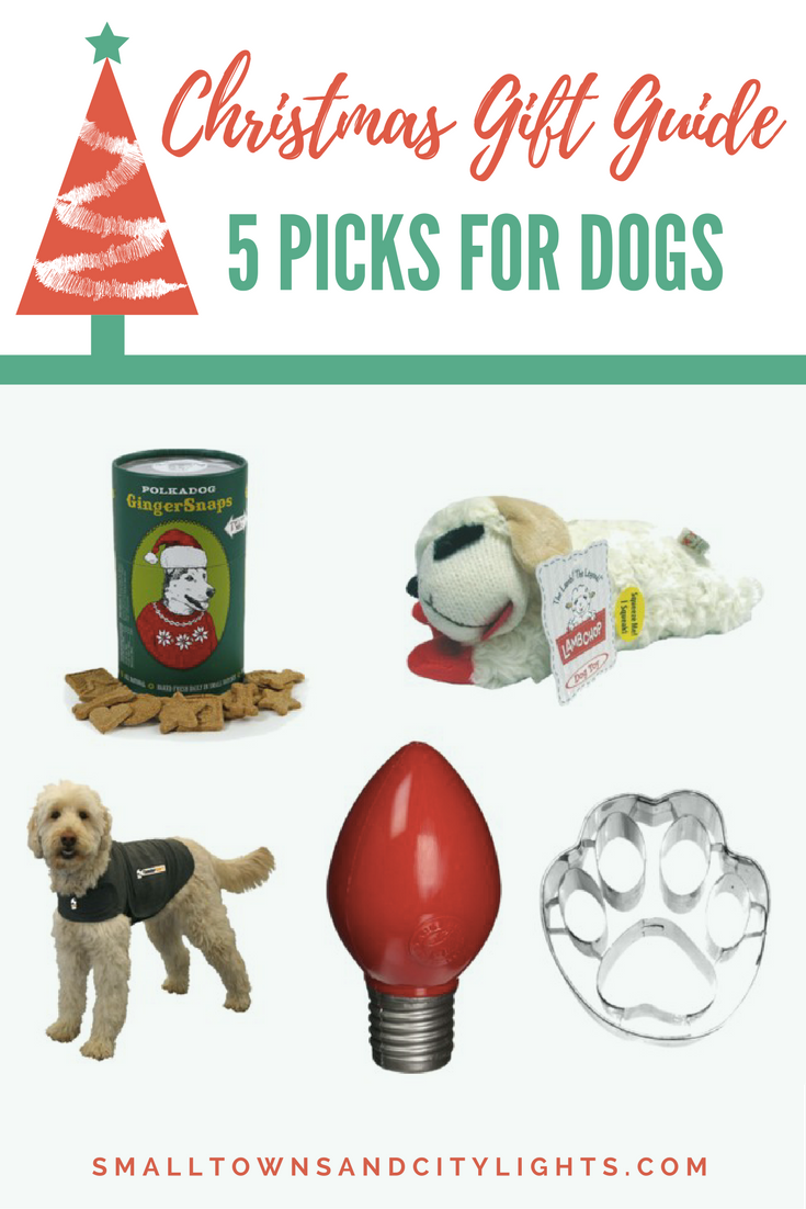 Christmas Gift Guide: 5 Picks for Dogs - Small Towns & City Lights