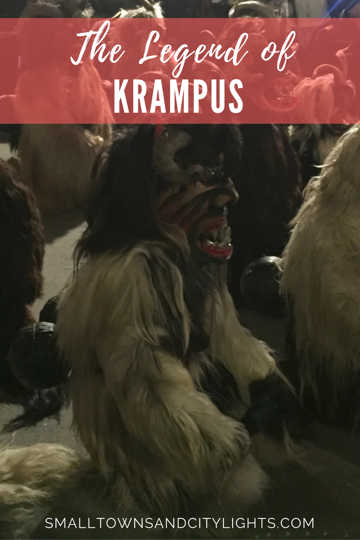 Curious about St. Nicholas' creepy-looking companion? Read all about the legend of Krampus!
