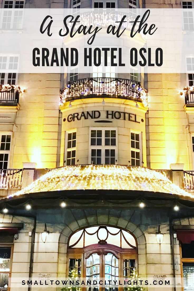 The best hotel in Oslo, Norway!