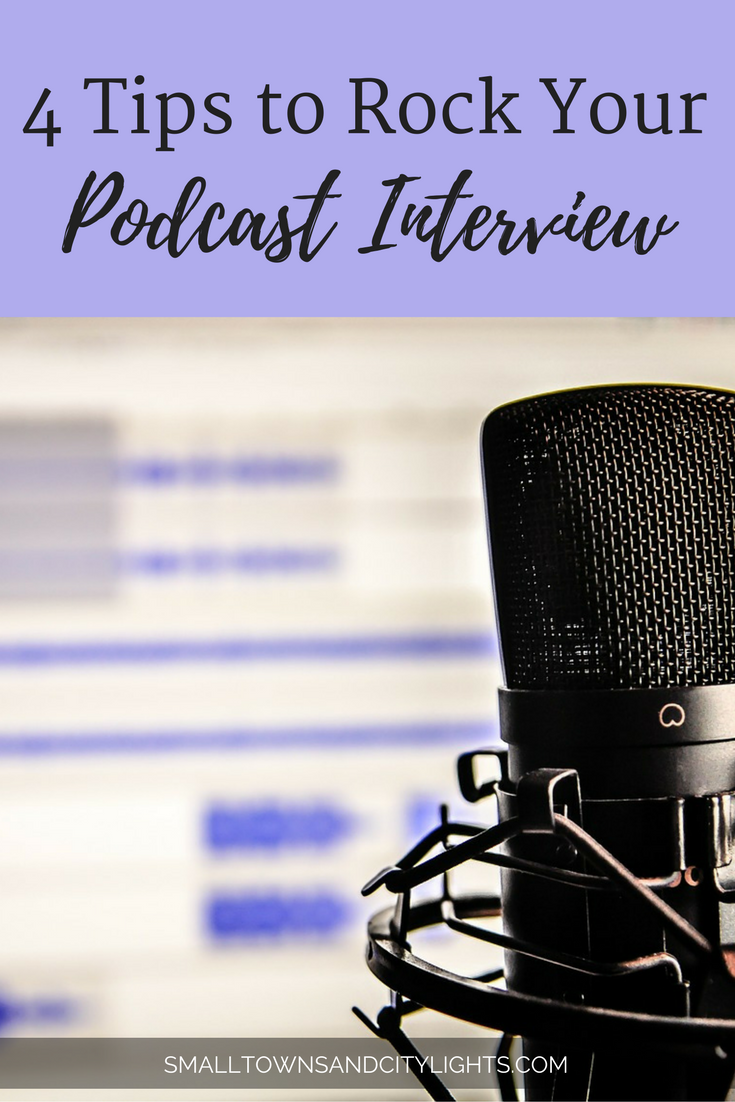 Whether you're hosting or interviewing, here are 4 tips to help you rock your podcast or radio interview!