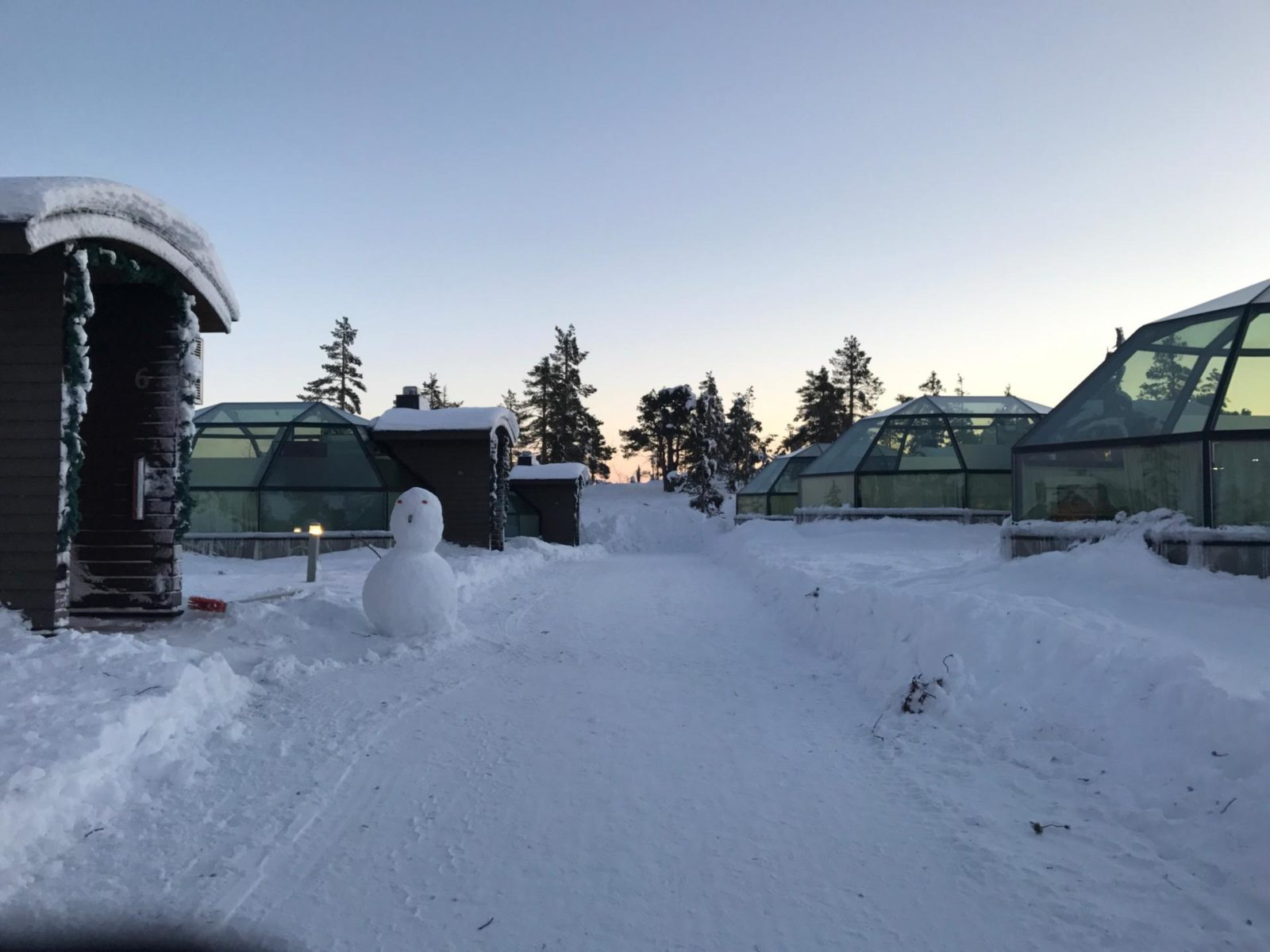 Staying in a glass igloo is truly a once-in-a-lifetime experience! Read all about it!