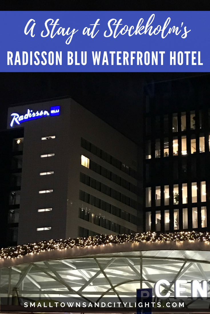 Planning a trip to Stockholm? The Radisson Blu Waterfront Hotel is the place to stay!