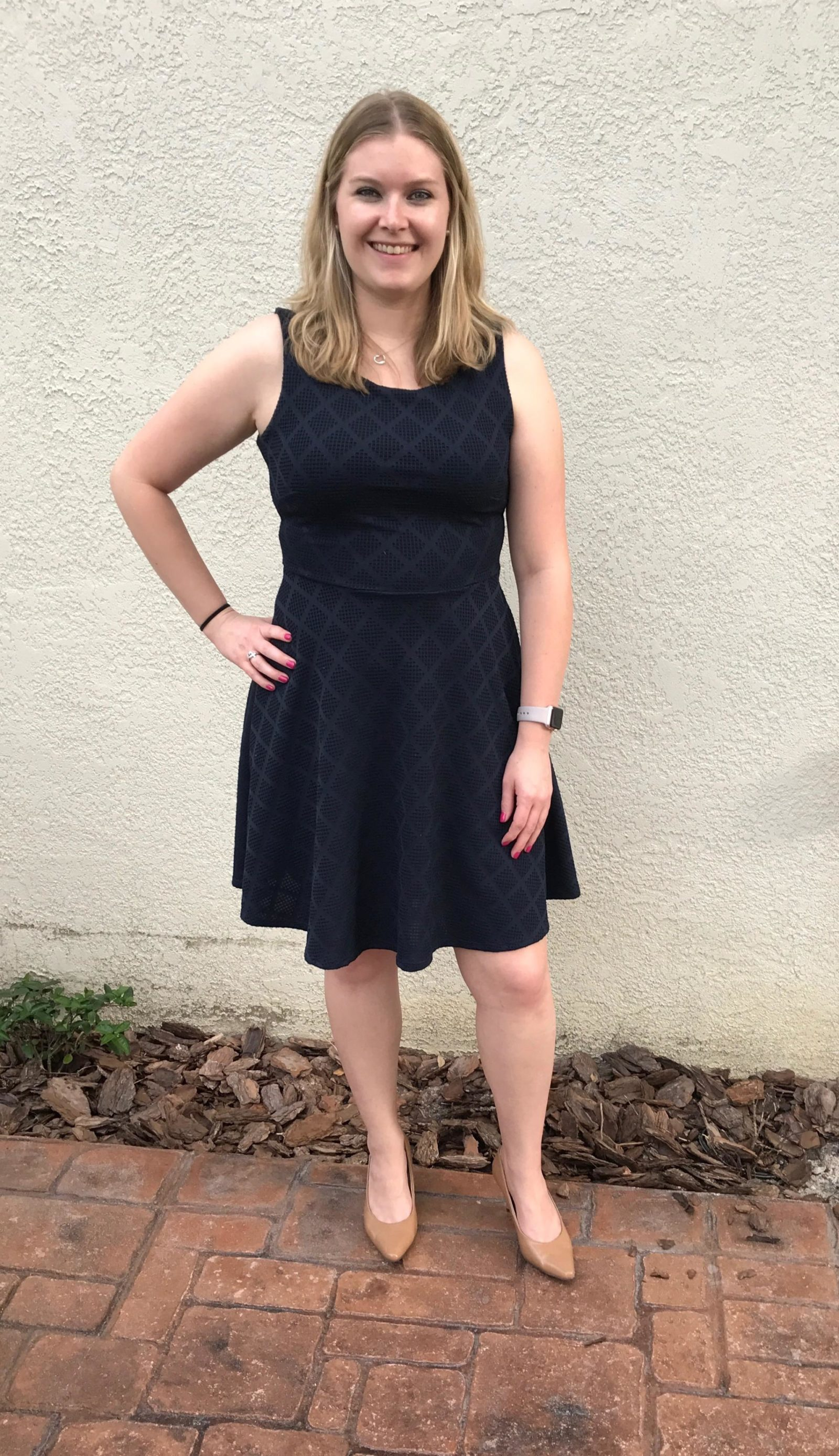 Stitch Fix Le Lis Kano Textured Knit Dress