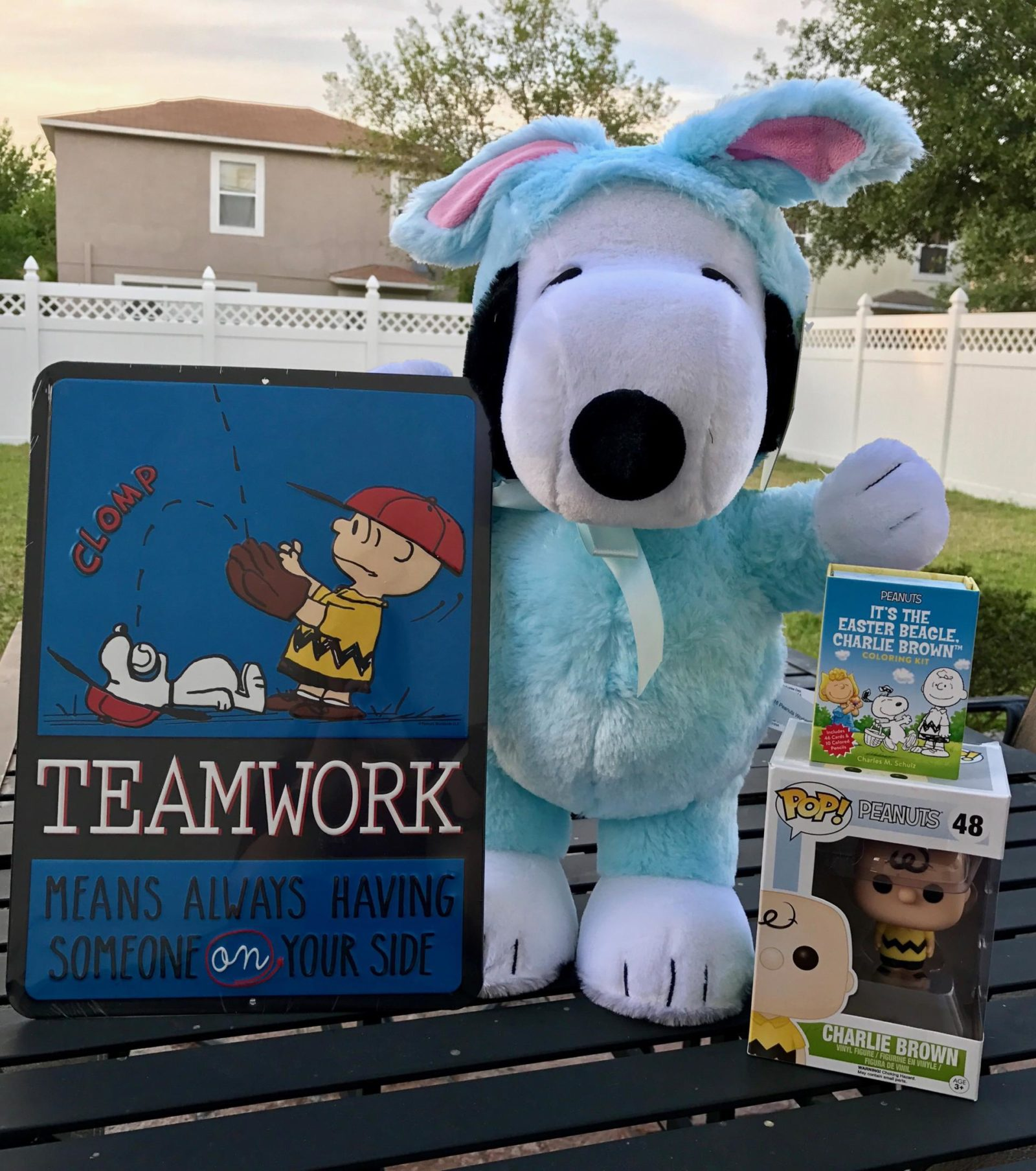 Peanuts Easter Giveaway