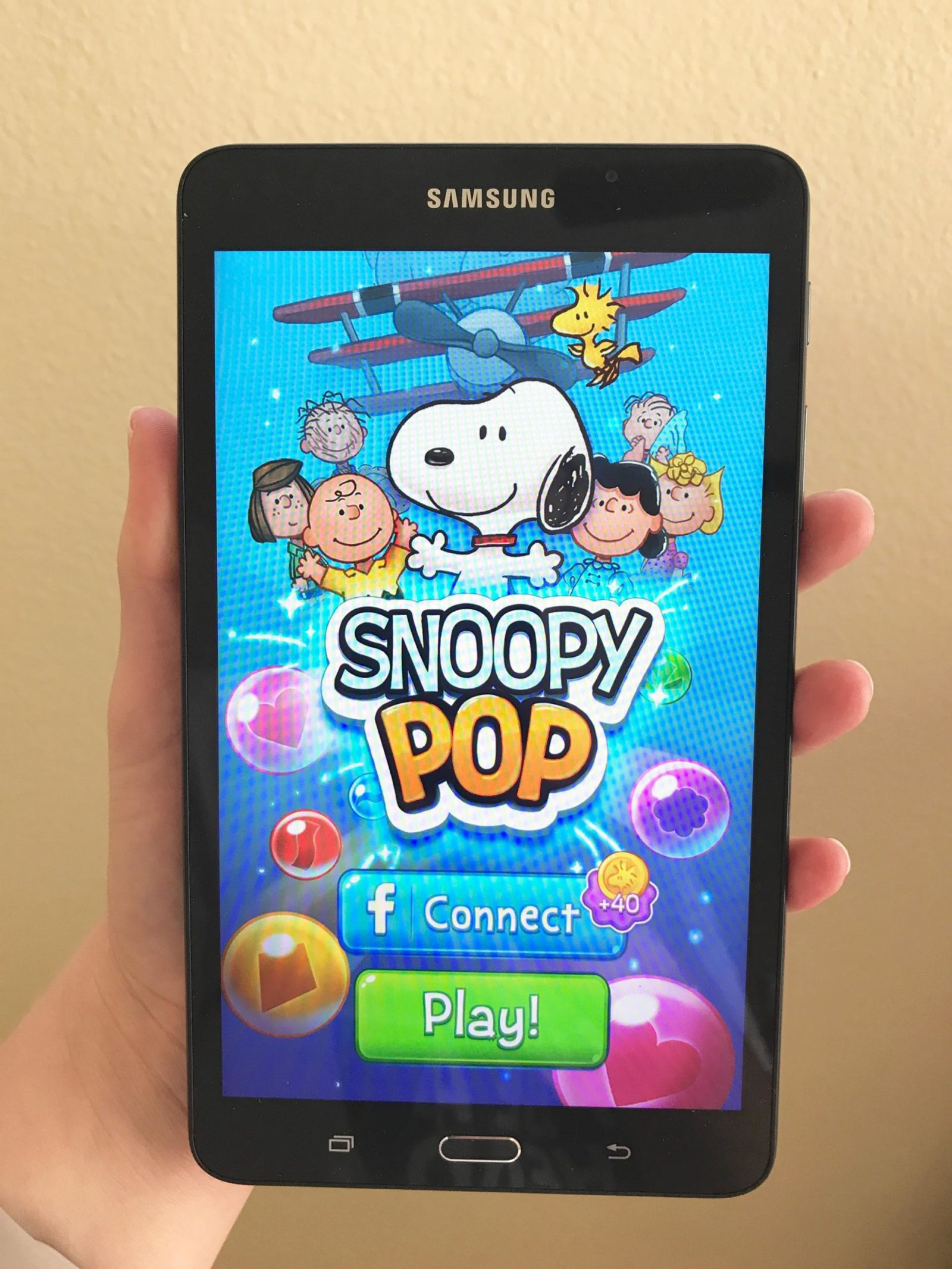 Snoopy Pop App (+ Win a Samsung Galaxy Tablet)!
