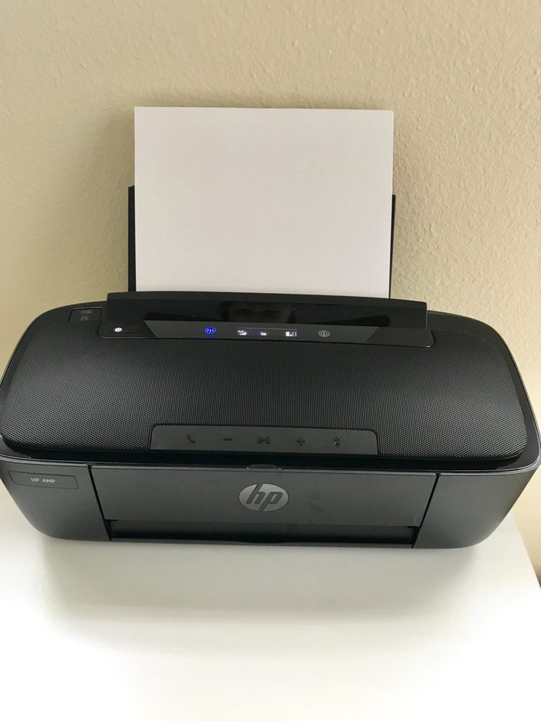 My New Favorite Office Accessory: The HP Amp 100 Printer ...
