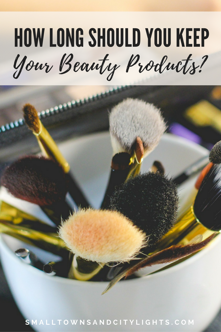How long should you keep your beauty products?