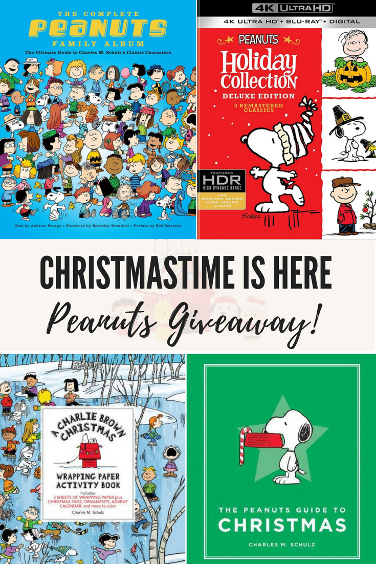 Christmastime is Here + Peanuts Giveaway!