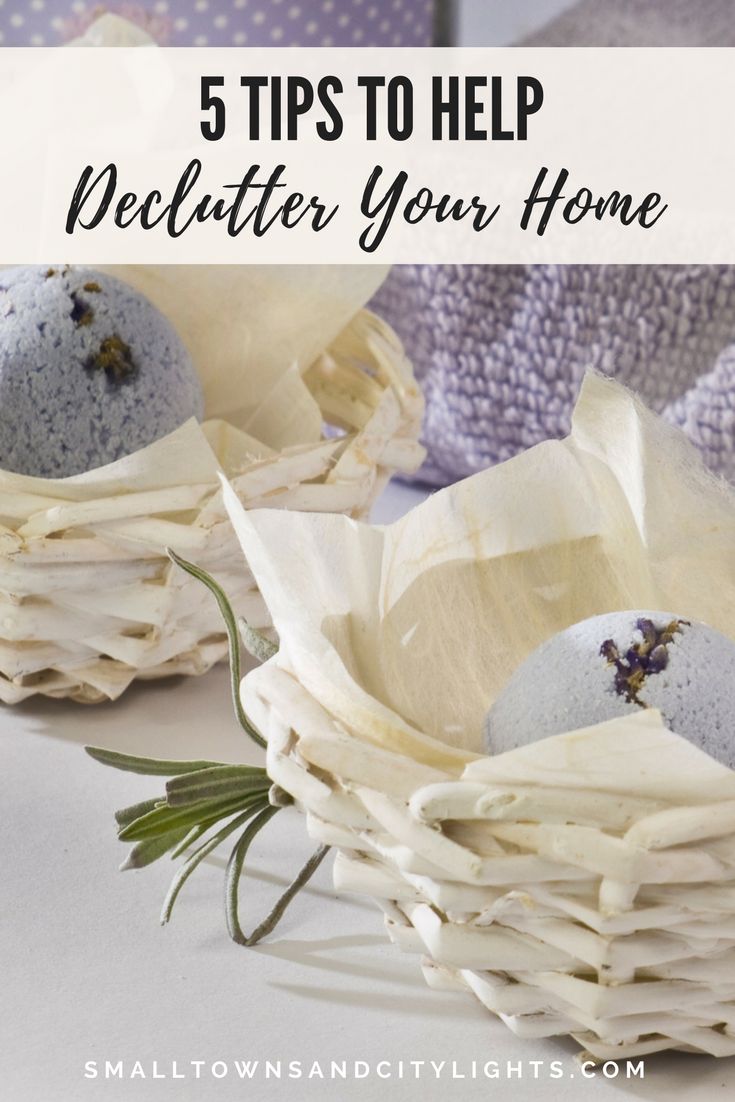 5 Tips to Help Declutter Your Home