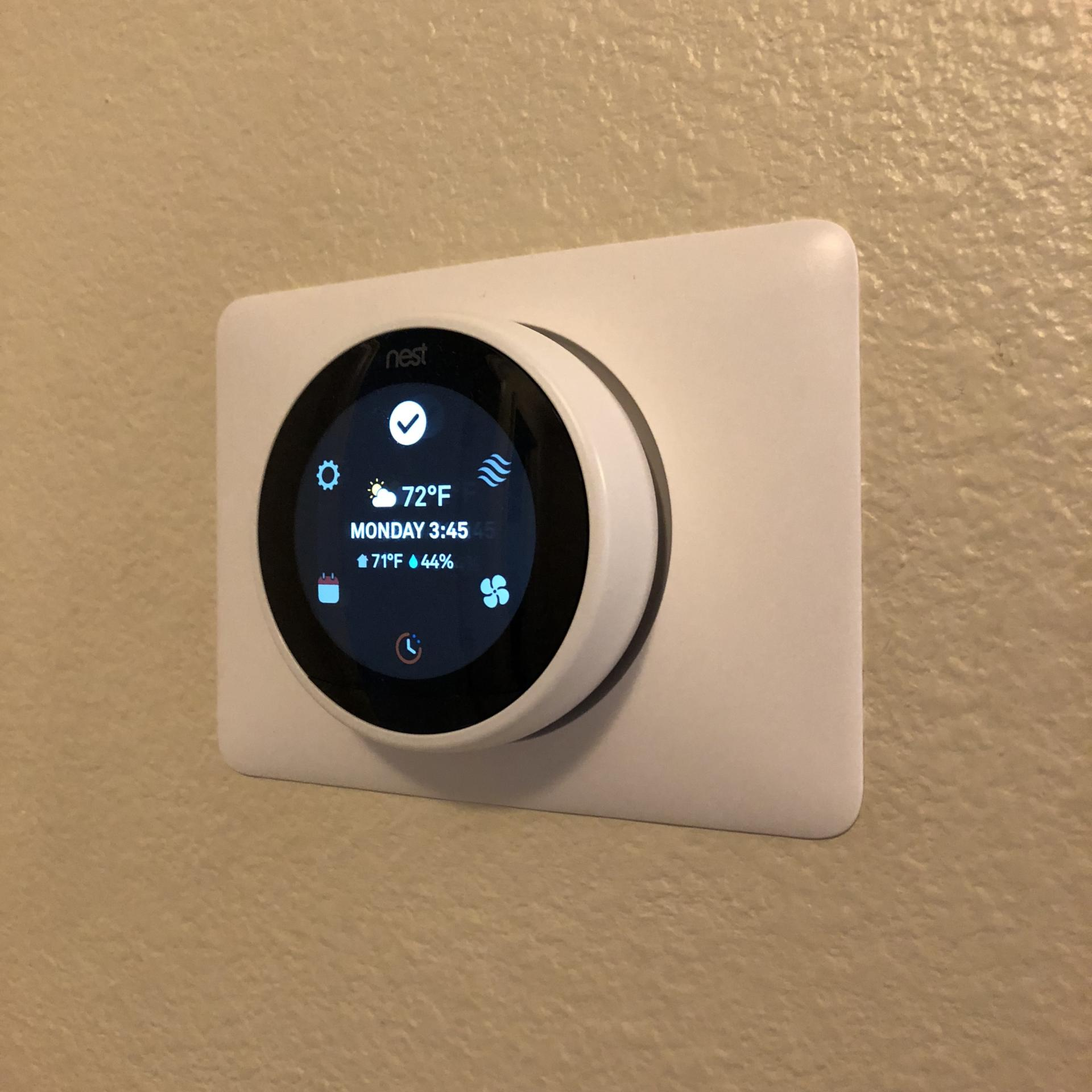 Nest learning thermostat small towns city lights - Nest learning thermostat ...