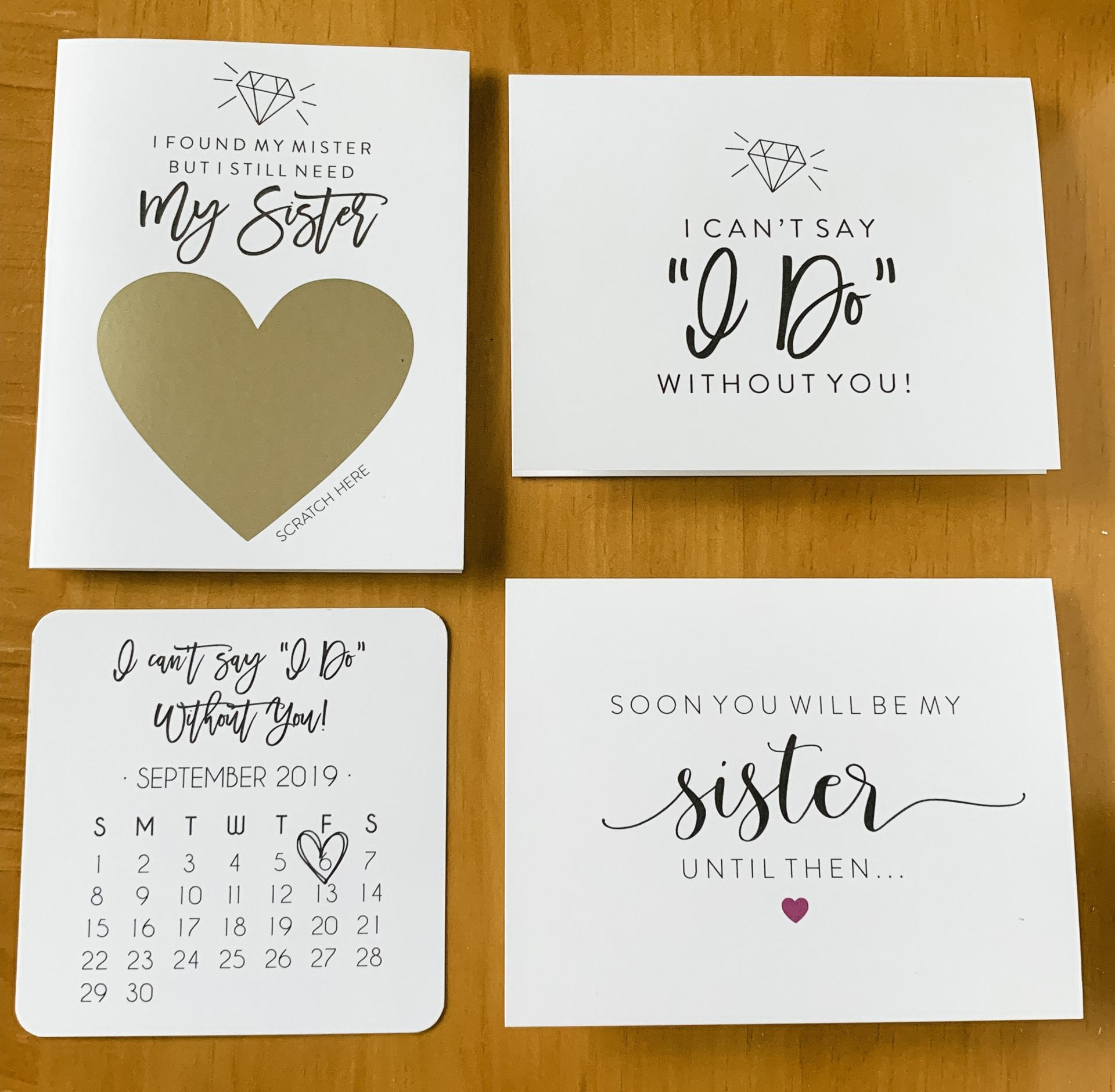Future Sister In Law Soon You Will Be My Sister Until Then Will You Be My Bridesmaid Bridesmaid Card